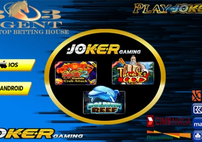 Agen Joker Gaming Slot Online Deposit 25rb